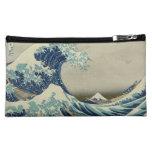 The Great Wave off Kanagawa Cosmetics Bags