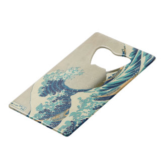 The Great Wave off Kanagawa Credit Card Bottle Opener