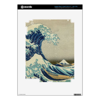 The Great Wave off Kanagawa Decal For iPad 3