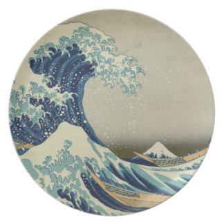 The Great Wave off Kanagawa Dinner Plate