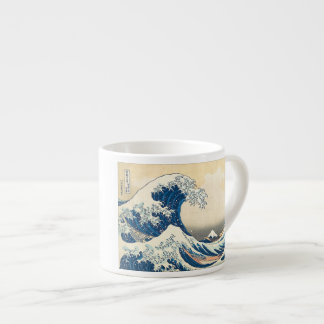 """The Great Wave Off Kanagawa"" Espresso Cup"