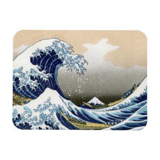 The Great Wave Off Kanagawa Flexible Magnet