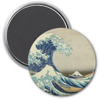 The Great Wave off Kanagawa Fridge Magnet