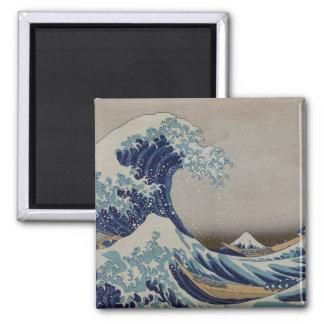 The Great Wave off Kanagawa Fridge Magnets