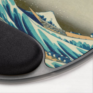 The Great Wave off Kanagawa Gel Mouse Pad