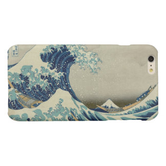 The Great Wave off Kanagawa Glossy iPhone 6 Plus Case