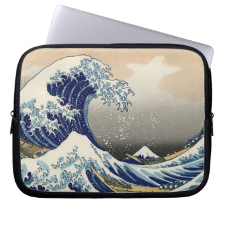 The Great Wave off Kanagawa, Hokusai Computer Sleeves