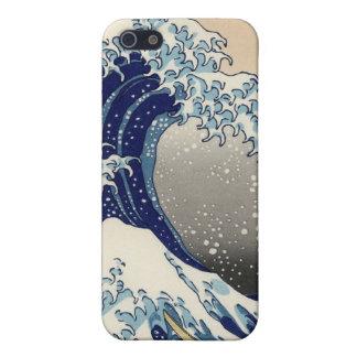 the-great-wave-off-kanagawa-hokusai-iconic-japanes iPhone SE/5/5s cover