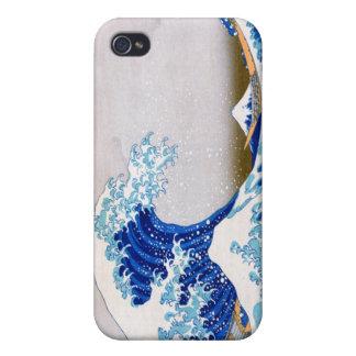 The Great Wave off Kanagawa, Hokusai iPhone 4 Cases