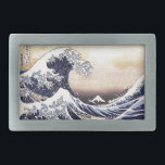 """The Great Wave Off Kanagawa Hokusai Japanese Art Belt Buckle<br><div class=""""desc"""">Katsushika Hokusai The Great Wave Off Kanagawa (1830) The Great Wave off Kanagawa, also known as The Great Wave or simply The Wave, is an ukiyo-e print by Japanese artist Hokusai, published sometime between 1830 and 1833 in the late Edo period as the first print in Hokusai&#39;s series Thirty-six Views...</div>"""