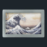 "The Great Wave Off Kanagawa Hokusai Japanese Art Belt Buckle<br><div class=""desc"">Katsushika Hokusai The Great Wave Off Kanagawa (1830) The Great Wave off Kanagawa, also known as The Great Wave or simply The Wave, is an ukiyo-e print by Japanese artist Hokusai, published sometime between 1830 and 1833 in the late Edo period as the first print in Hokusai&#39;s series Thirty-six Views...</div>"