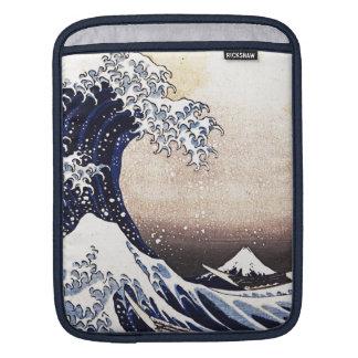 The Great Wave Off Kanagawa Hokusai Japanese Art Sleeve For iPads