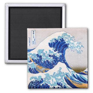 The Great Wave off Kanagawa, Hokusai Refrigerator Magnet