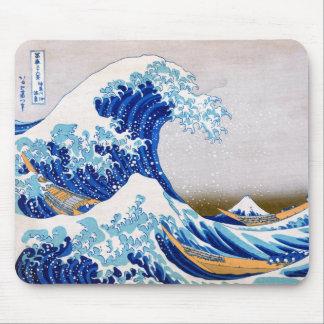 The Great Wave off Kanagawa, Hokusai Mouse Pads