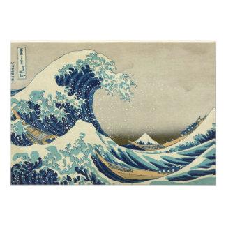 The Great Wave off Kanagawa Personalized Invitations