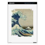 The Great Wave off Kanagawa iPad 3 Skin