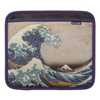 The Great Wave off Kanagawa iPad Sleeve