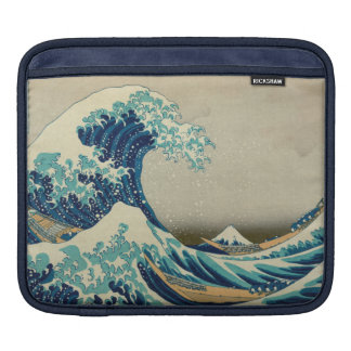 The Great Wave off Kanagawa Sleeves For iPads