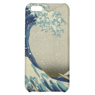The Great Wave off Kanagawa iPhone 5C Covers