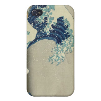 The Great Wave Off Kanagawa Cover For iPhone 4