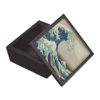 The Great Wave off Kanagawa Jewelry Box