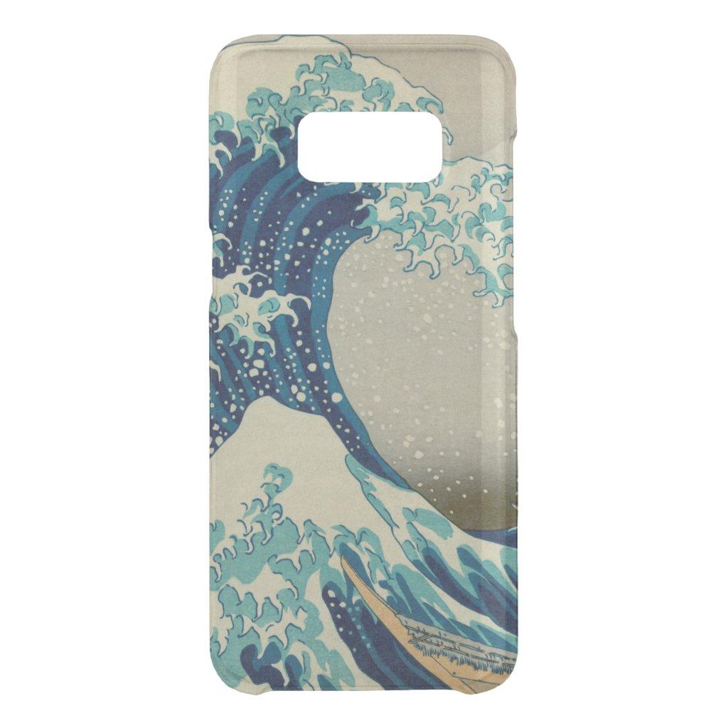 The Great Wave Off Kanagawa Kanagawa-oki Nami Ura