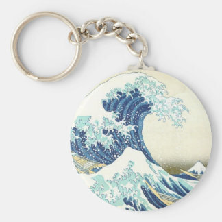 The Great Wave off Kanagawa Key Chain