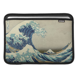 The Great Wave off Kanagawa MacBook Air Sleeve