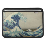 The Great Wave off Kanagawa MacBook Sleeves
