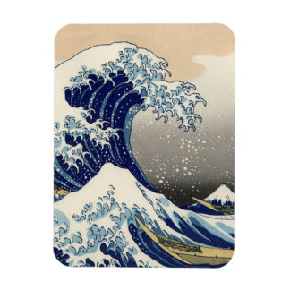 The Great Wave off Kanagawa Magnets