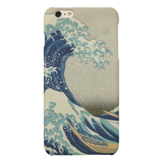 The Great Wave off Kanagawa Matte iPhone 6 Plus Case