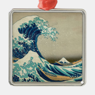 The Great Wave off Kanagawa Metal Ornament