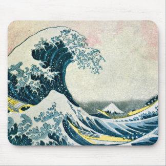 The Great Wave off Kanagawa Mousepad
