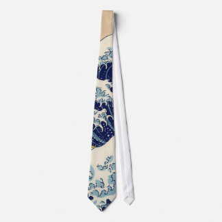 The Great Wave off Kanagawa Neck Tie