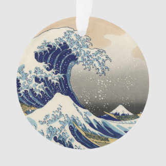 The Great Wave off Kanagawa Ornament