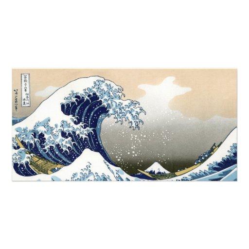 The Great Wave Off Kanagawa Photo Greeting Card