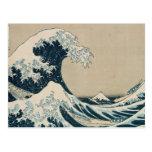 The Great Wave off Kanagawa Postcard