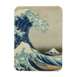 The Great Wave off Kanagawa Rectangular Photo Magnet