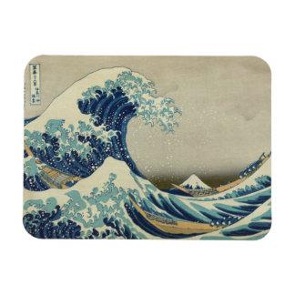 The Great Wave off Kanagawa Vinyl Magnet