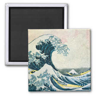 The Great Wave off Kanagawa Refrigerator Magnets