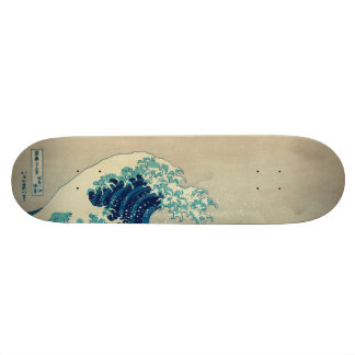 The Great Wave off Kanagawa Skateboard