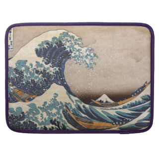 The Great Wave off Kanagawa Sleeve For MacBook Pro