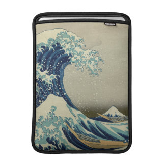 The Great Wave off Kanagawa Sleeves For MacBook Air