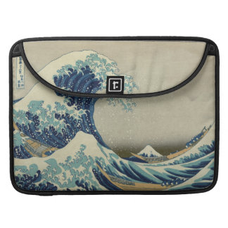 The Great Wave off Kanagawa Sleeves For MacBook Pro
