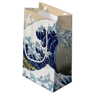 The Great Wave Off Kanagawa Small Gift Bag