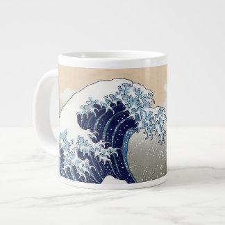 The Great Wave Off Kanagawa Jumbo Mugs