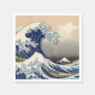 The Great Wave off Kanagawa Standard Cocktail Napkin