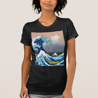 The Great Wave off Kanagawa Super High Resolution T-Shirt