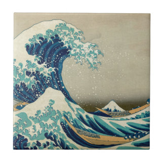 The Great Wave off Kanagawa Ceramic Tiles