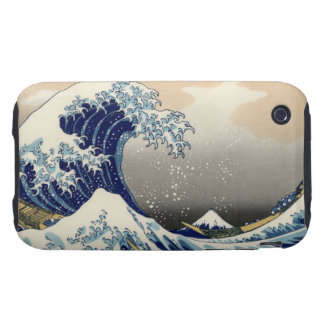 The Great Wave Off Kanagawa Tough iPhone 3 Cover